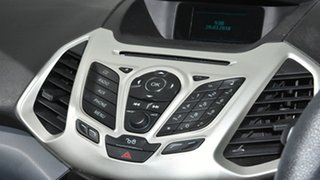 2015 Ford Ecosport BK Trend PwrShift Diamond White 6 Speed Sports Automatic Dual Clutch Wagon