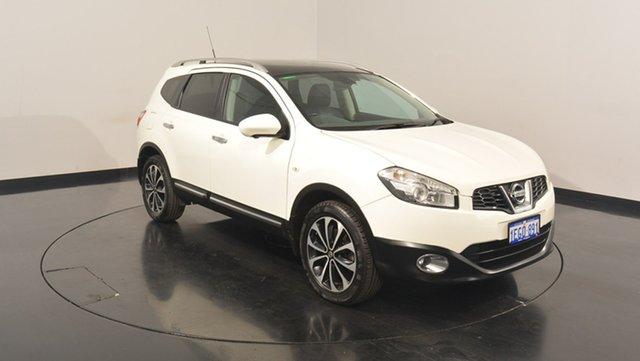 Used Nissan Dualis J107 Series 3 MY12 +2 X-tronic AWD Ti-L, 2012 Nissan Dualis J107 Series 3 MY12 +2 X-tronic AWD Ti-L White 6 Speed Constant Variable Hatchback