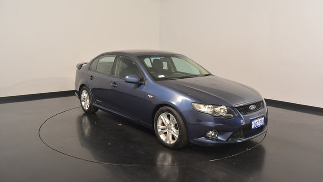 Used Ford Falcon FG XR6, 2010 Ford Falcon FG XR6 Blue 5 Speed Sports Automatic Sedan