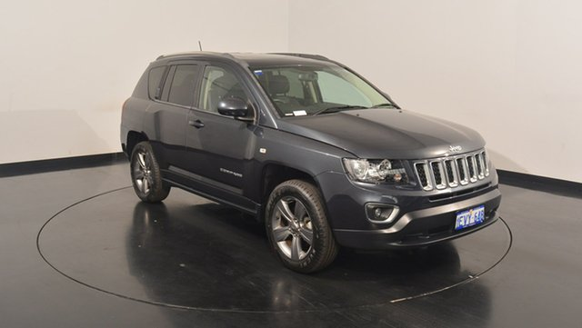 Used Jeep Compass MK MY15 North CVT Auto Stick, 2015 Jeep Compass MK MY15 North CVT Auto Stick Grey 6 Speed Constant Variable Wagon
