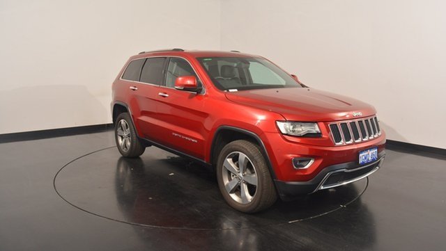Used Jeep Grand Cherokee WK MY17 Limited, 2017 Jeep Grand Cherokee WK MY17 Limited Deep Cherry Red Pearl 8 Speed Sports Automatic Wagon