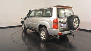 2007 Nissan Patrol GU 5 MY07 ST Silver 4 Speed Automatic Wagon.