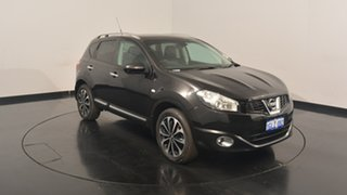 2012 Nissan Dualis J10W Series 3 MY12 Ti-L X-tronic AWD Black 6 Speed Constant Variable Hatchback.