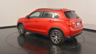 2017 Mitsubishi ASX XC MY17 LS 2WD Red 6 Speed Constant Variable Wagon.