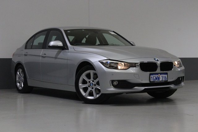 Used BMW 320D F30 MY14 , 2013 BMW 320D F30 MY14 Silver 8 Speed Automatic Sedan