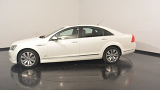 2012 Holden Caprice WM II V White 6 Speed Sports Automatic Sedan.