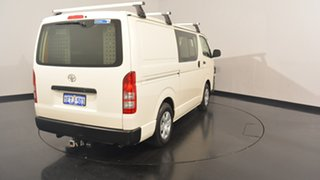 2015 Toyota Hiace KDH201R Crewvan LWB White 4 Speed Automatic VAN WAGON