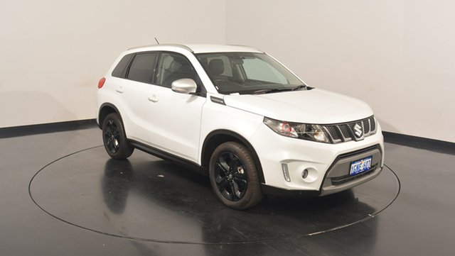 Used Suzuki Vitara LY S Turbo 2WD, 2016 Suzuki Vitara LY S Turbo 2WD White 6 Speed Sports Automatic Wagon