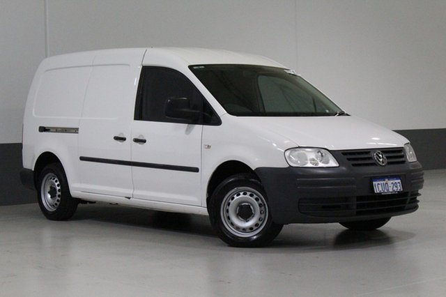 Used Volkswagen Caddy 2K MY08 1.9 TDI, 2008 Volkswagen Caddy 2K MY08 1.9 TDI White 5 Speed Manual Van