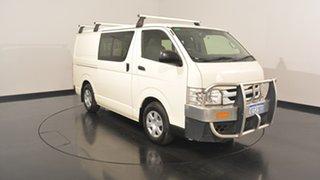 2015 Toyota Hiace KDH201R Crewvan LWB White 4 Speed Automatic VAN WAGON.