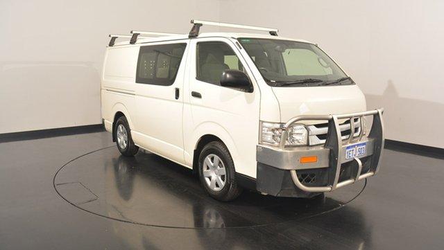 Used Toyota Hiace KDH201R Crewvan LWB, 2015 Toyota Hiace KDH201R Crewvan LWB White 4 Speed Automatic VAN WAGON