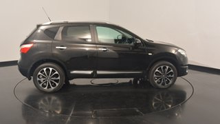 2012 Nissan Dualis J10W Series 3 MY12 Ti-L X-tronic AWD Black 6 Speed Constant Variable Hatchback