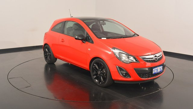 Used Opel Corsa CO , 2013 Opel Corsa CO Red 5 Speed Manual Hatchback