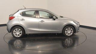 2015 Mazda 2 DJ2HA6 Neo SKYACTIV-MT Silver 6 Speed Manual Hatchback