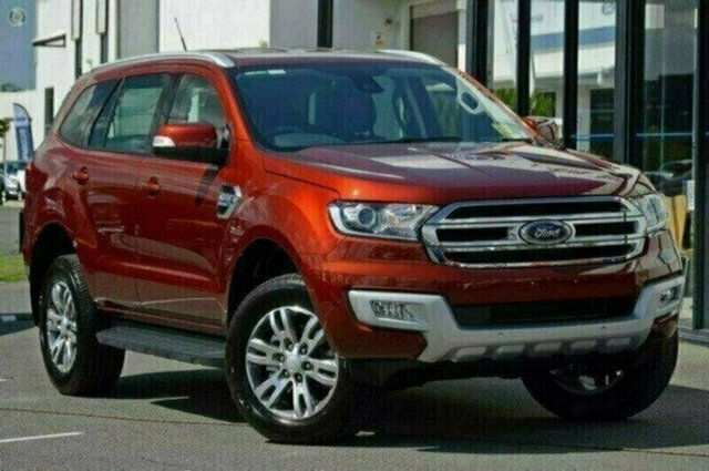 Demo Ford Everest UA Trend 4WD, 2017 Ford Everest UA Trend 4WD Sunset 6 Speed Sports Automatic Wagon