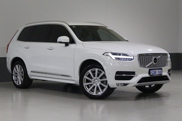 Used Volvo XC90 256 MY17 T6 Inscription, 2016 Volvo XC90 256 MY17 T6 Inscription White 8 Speed Automatic Geartronic Wagon
