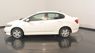 2013 Honda City GM MY12 VTi White 5 Speed Manual Sedan.