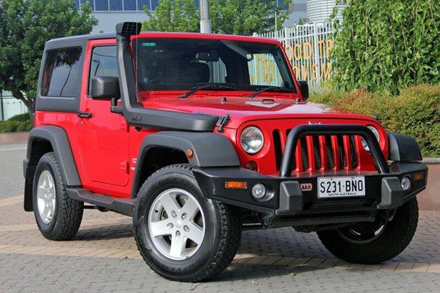 Used Jeep Wrangler JK MY2010 Sport, 2010 Jeep Wrangler JK MY2010 Sport Red 6 Speed Manual Softtop