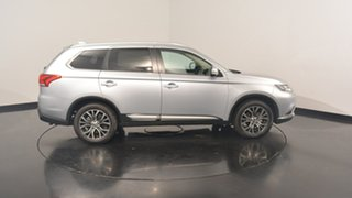 2017 Mitsubishi Outlander ZK MY17 LS 4WD Cool Silver 6 Speed Constant Variable Wagon