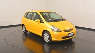 2008 Honda Jazz GD GLi Yellow 1 Speed Constant Variable Hatchback.