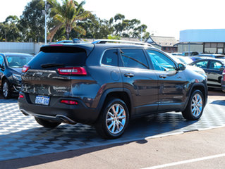2014 Jeep Cherokee KL Limited Grey 9 Speed Sports Automatic Wagon