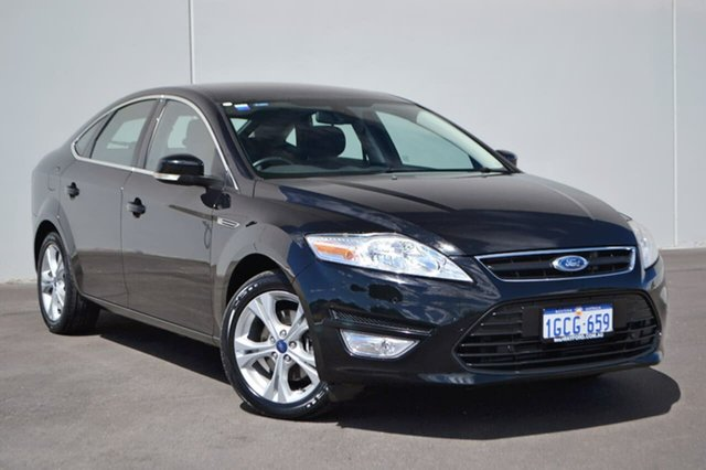 Used Ford Mondeo MC Zetec PwrShift EcoBoost, 2013 Ford Mondeo MC Zetec PwrShift EcoBoost Black 6 Speed Sports Automatic Dual Clutch Hatchback