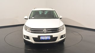 2014 Volkswagen Tiguan 5N MY15 132TSI DSG 4MOTION Pure White 7 Speed Sports Automatic Dual Clutch