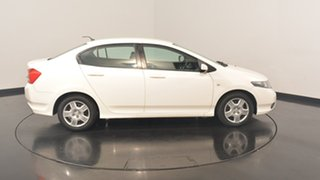 2013 Honda City GM MY12 VTi White 5 Speed Manual Sedan