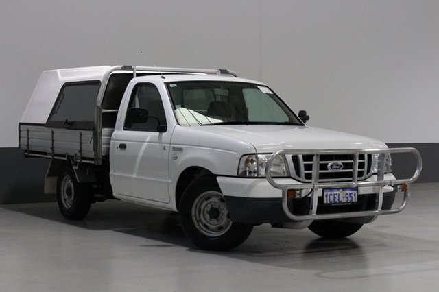 Used Ford Courier PH GL, 2005 Ford Courier PH GL White 5 Speed Manual Crew Cab Chassis