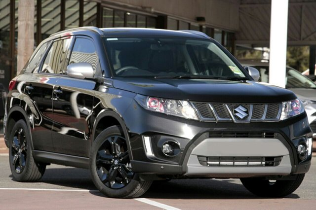 New Suzuki Vitara LY S Turbo (2WD), 2019 Suzuki Vitara LY S Turbo (2WD) Black 6 Speed Automatic Wagon