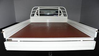 2014 Mitsubishi Triton MN MY15 GLX White 5 Speed Manual Cab Chassis