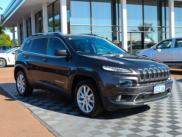 Used Jeep Cherokee KL Limited, 2014 Jeep Cherokee KL Limited Grey 9 Speed Sports Automatic Wagon