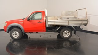 2007 Ford Ranger PJ XL Hi-Rider Red 5 Speed Manual Cab Chassis.