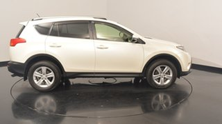 2013 Toyota RAV4 ALA49R Cruiser AWD White 6 Speed Sports Automatic Wagon