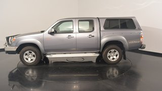 2010 Mazda BT-50 UNY0E4 DX Grey 5 Speed Manual Utility.