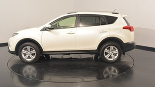2013 Toyota RAV4 ALA49R Cruiser AWD White 6 Speed Sports Automatic Wagon.