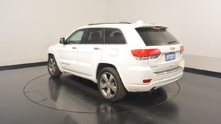 2015 Jeep Grand Cherokee WK MY15 Overland Bright White 8 Speed Sports Automatic Wagon.