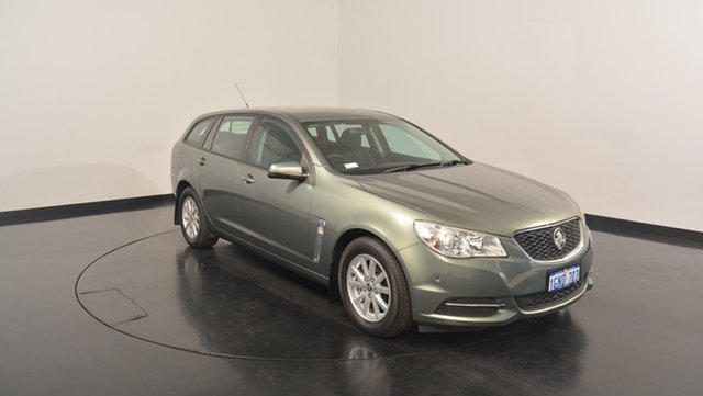Used Holden Commodore VF MY14 Evoke Sportwagon, 2013 Holden Commodore VF MY14 Evoke Sportwagon Prussian Steel 6 Speed Sports Automatic Wagon