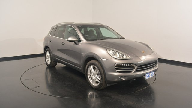 Used Porsche Cayenne 92A MY12 Diesel Tiptronic, 2011 Porsche Cayenne 92A MY12 Diesel Tiptronic Silver 8 Speed Sports Automatic Wagon