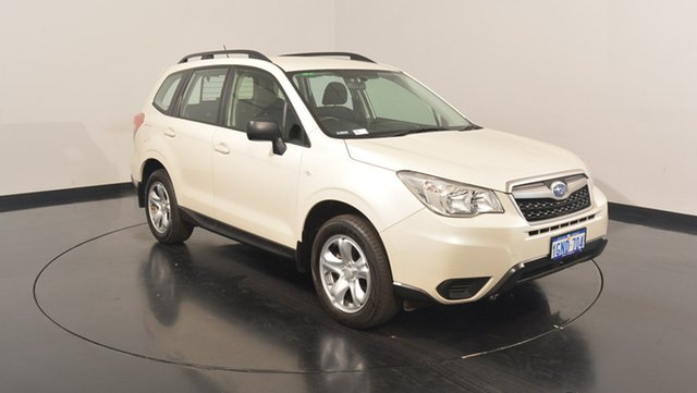 Used Subaru Forester S4 MY14 2.5i Lineartronic AWD, 2014 Subaru Forester S4 MY14 2.5i Lineartronic AWD Pearl White 6 Speed Constant Variable Wagon