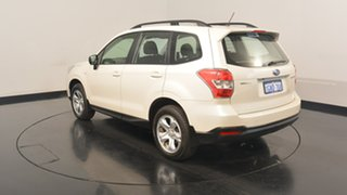 2014 Subaru Forester S4 MY14 2.5i Lineartronic AWD Pearl White 6 Speed Constant Variable Wagon.
