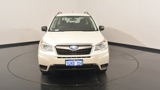 2014 Subaru Forester S4 MY14 2.5i Lineartronic AWD Pearl White 6 Speed Constant Variable Wagon