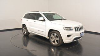 2015 Jeep Grand Cherokee WK MY15 Overland Bright White 8 Speed Sports Automatic Wagon