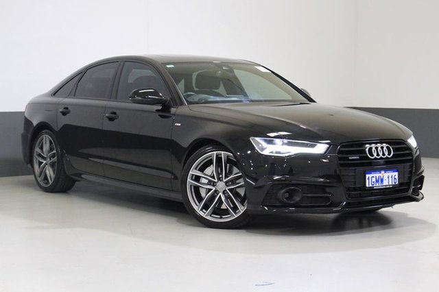 Used Audi A6 4GL MY15 3.0 TDI Biturbo Quattro, 2015 Audi A6 4GL MY15 3.0 TDI Biturbo Quattro Black 8 Speed Automatic Tiptronic Sedan