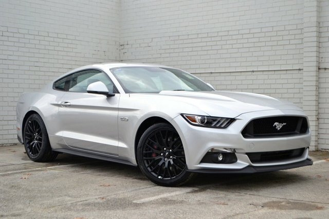 New Ford Mustang FM MY17 GT Fastback SelectShift, 2017 Ford Mustang FM MY17 GT Fastback SelectShift Ingot Silver 6 Speed Sports Automatic Fastback