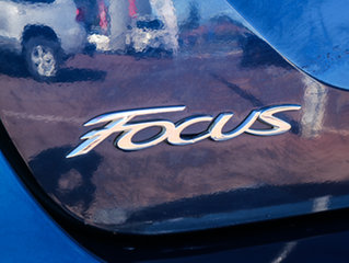 2011 Ford Focus LW Titanium PwrShift Blue 6 Speed Sports Automatic Dual Clutch Sedan