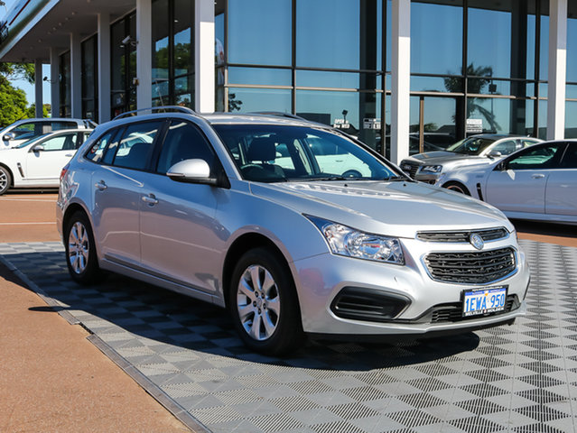 Used Holden Cruze JH Series II MY15 CD Sportwagon, 2015 Holden Cruze JH Series II MY15 CD Sportwagon Nitrate 6 Speed Sports Automatic Wagon