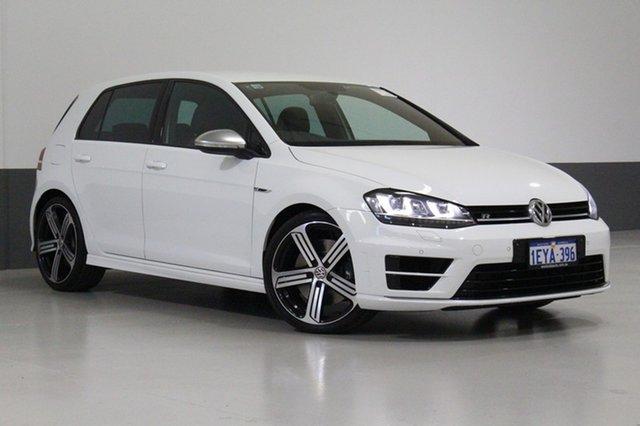 Used Volkswagen Golf AU MY15 R, 2015 Volkswagen Golf AU MY15 R White 6 Speed Direct Shift Hatchback
