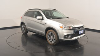 2017 Mitsubishi ASX XC MY18 LS 2WD Sterling Silver 6 Speed Constant Variable Wagon