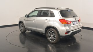 2017 Mitsubishi ASX XC MY18 LS 2WD Sterling Silver 6 Speed Constant Variable Wagon.